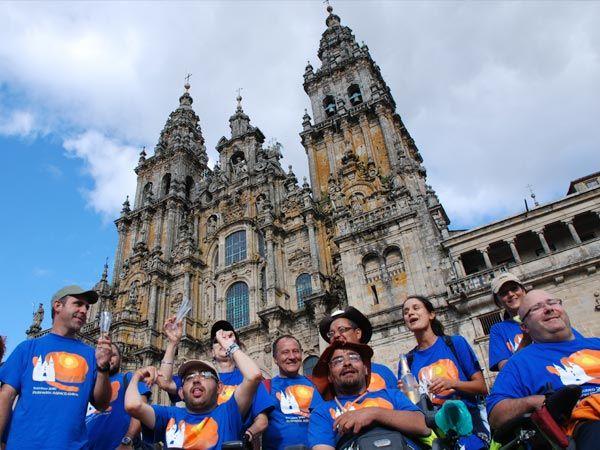 La Federación ASPACE-Galicia elabora un DVD con imágenes del Camino Xacobeo