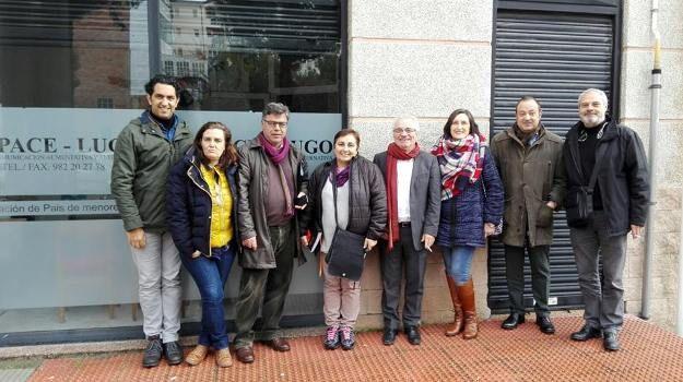 Confederación ASPACE y Federación ASPACE Galicia se reúnen con la Presidenta de ASPACE Lugo para establecer nuevas líneas de colaboración
