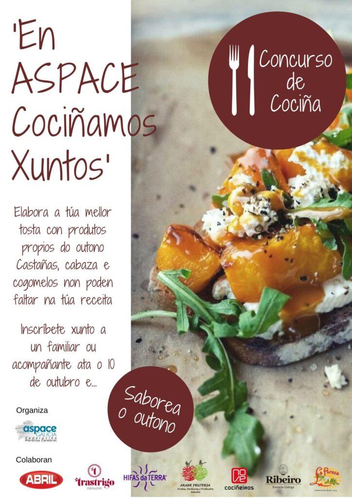 Saborea el otoño con el II concurso de cocina 'En ASPACE Cocinamos Juntos'