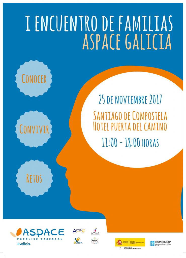El Primer Encuentro de Familias ASPACE-Galicia se celebra en Santiago de Compostela