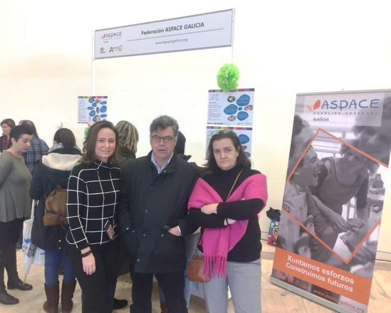 ASPACE-Galicia participa en unas jornadas sobre inclusión en el sistema educativo gallego