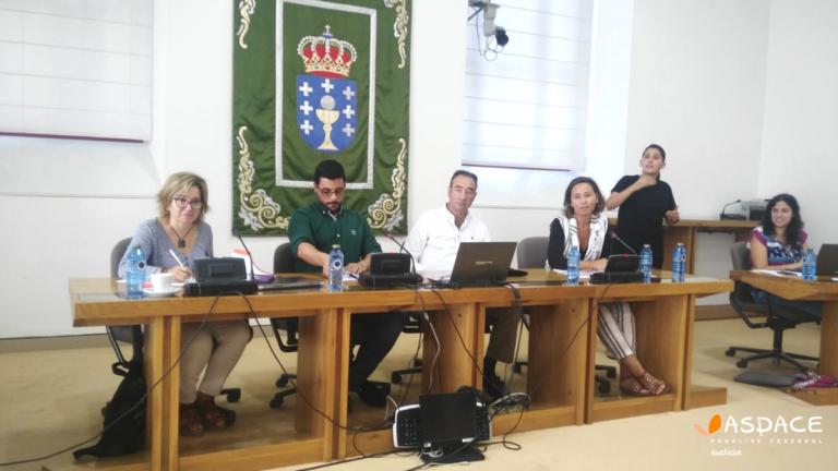ASPACE-Galicia e as entidades do Cermi Galicia reúnense co BNG