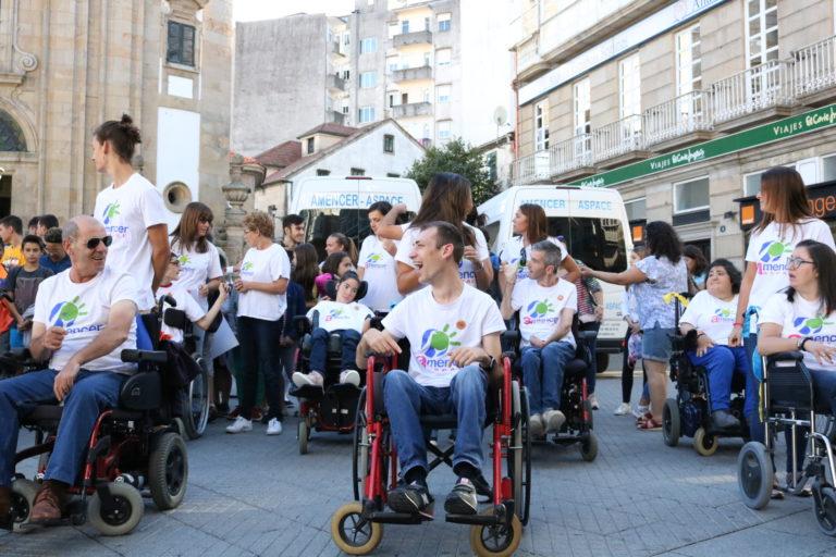ASPACE-Galicia 'mirou de fronte' no Día Mundial da Parálise Cerebral