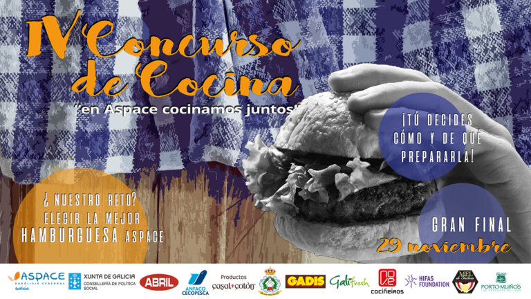 """IV Concurso de Cociña """"en ASPACE cociñamos xuntos"""""""