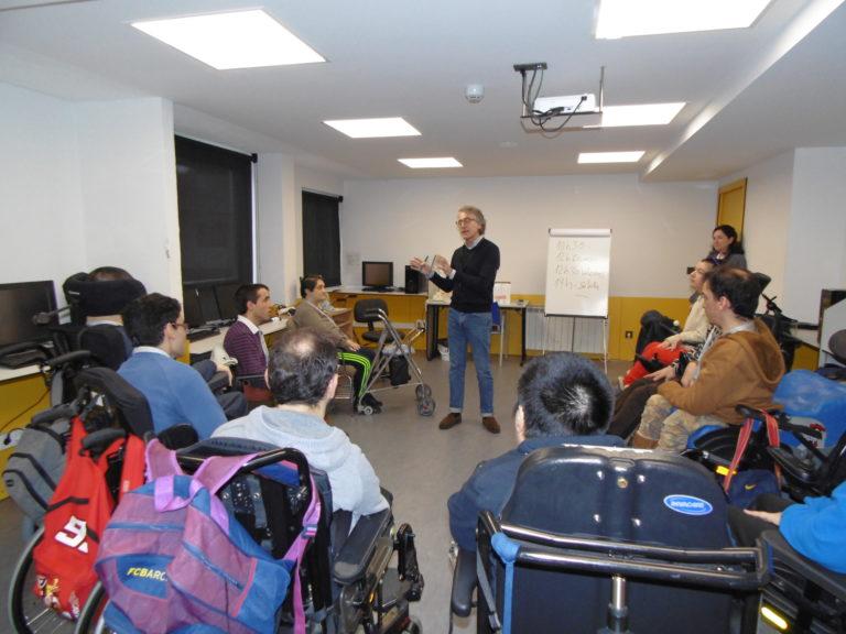 Comienza en ASPACE-Coruña la  acción formativa «Auxiliar de Conserje»