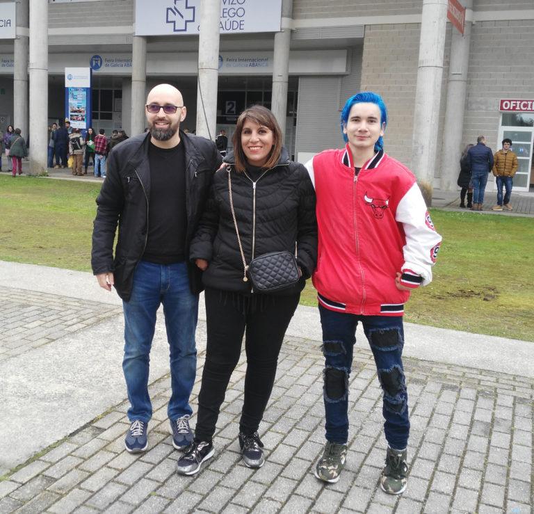 Tres usuarios de Federación ASPACE Galicia se presentan al examen-oposición de celador de la Xunta de Galicia