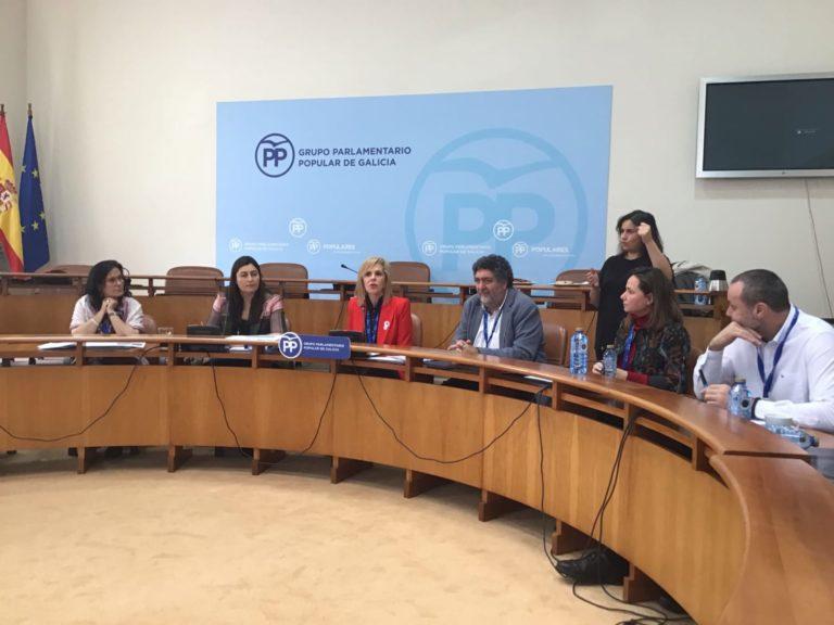 ASPACE-Galicia y las entidades del Cermi Galicia se reúnen con el Grupo Parlamentario del PP
