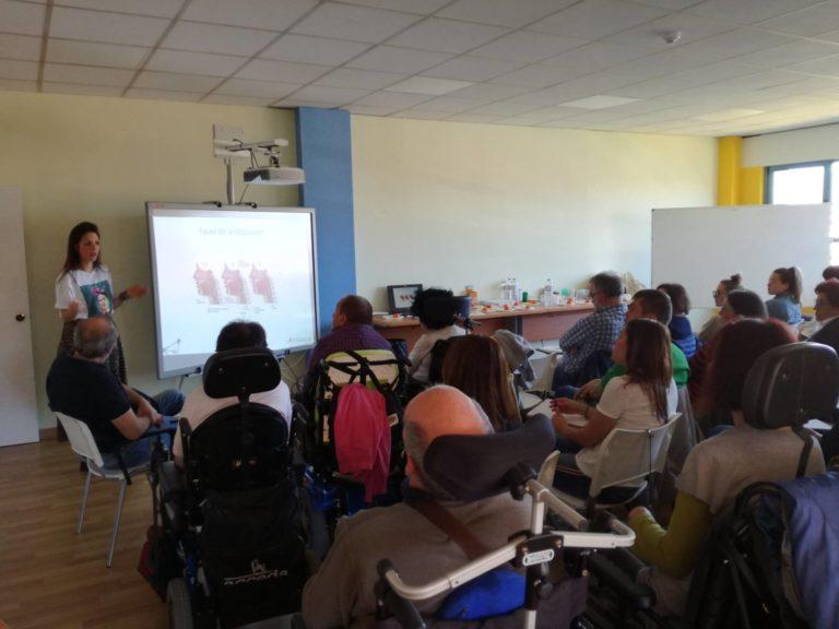 """Finalizan las sesiones de nuestra formación """"Alimentación segura y eficaz en personas con parálisis cerebral"""""""