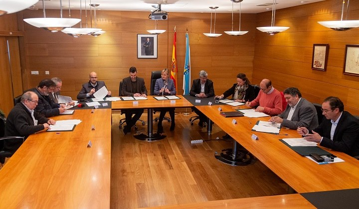 Firmado el convenio de ASPACE Galicia con la consellería de Política Social