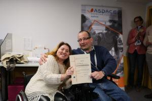Finaliza en ASPACE-Coruña la acción formativa «Auxiliar de Conserje» financiada por la Asociación Inserta Empleo