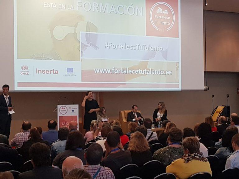 Nuestro programa de Empleo y Formación participante en el I Encuentro Fortalece tu Talento