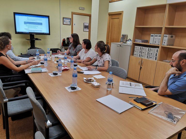 El programa de Empleo y Formación de ASPACE GALICIA en la reunión de la Comisión de Trabajo para la elaboración de la Guía de empleo