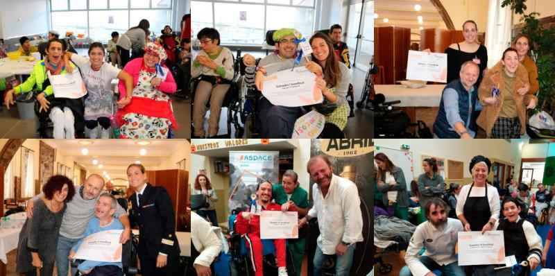 Elegidos los 6 grupos finalistas de nuestro V Concurso de Cocina «En Aspace cocinamos juntos»