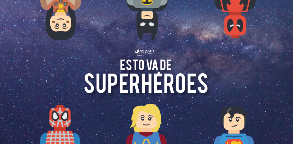 Isto vai de superheroes