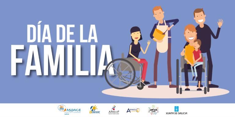 ¿Cuál es el papel de las familias en las entidades ASPACE Galicia?