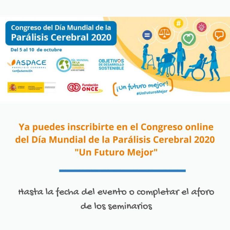 Alberto Pardo, usuario del Programa de Empleo y Formación de ASPACE-Galicia, ponente en el Congreso del Día Mundial de la Parálisis Cerebral