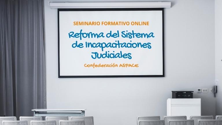 Federación ASPACE Galicia participará en un seminario sobre la nueva ley de incapacitaciones