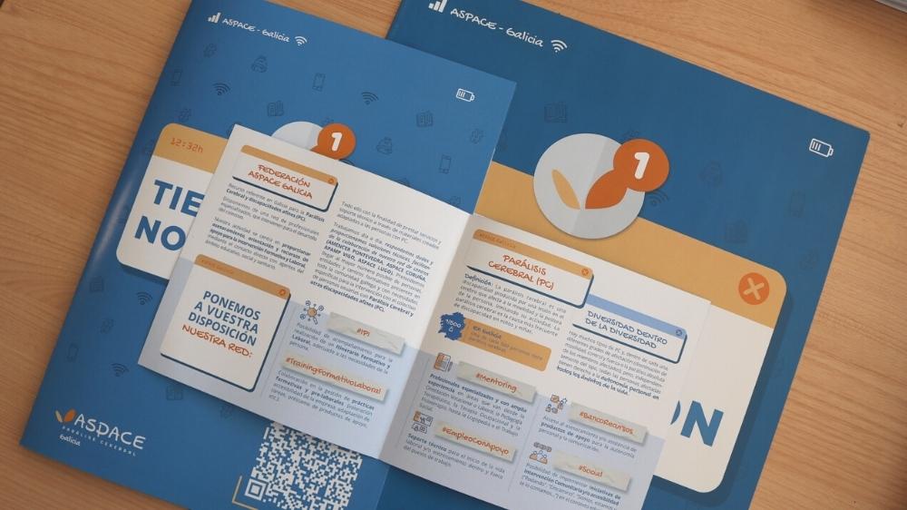 Material Campaña Informativa en Institutos
