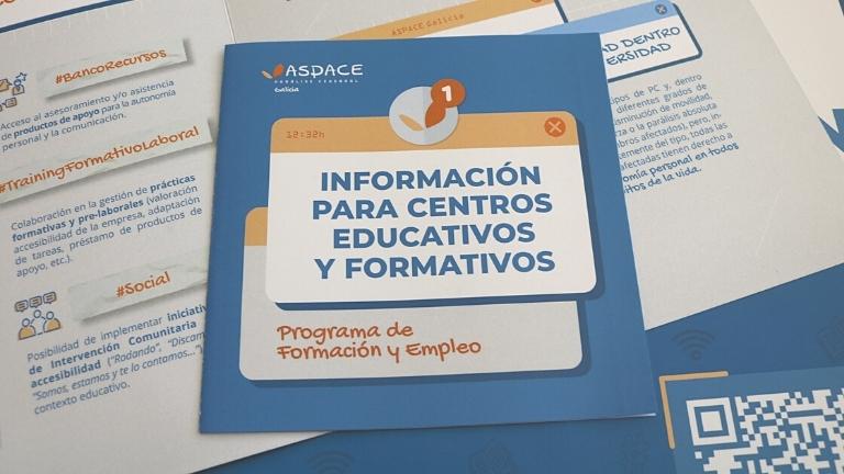 Nuestros recursos en empleo y formación, a disposición de los centros educativos