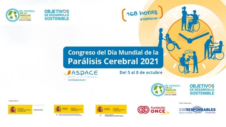 Entre el 5 y el 8 de octubre, ¡participa en el Congreso del Día Mundial de la Parálisis Cerebral 2021!